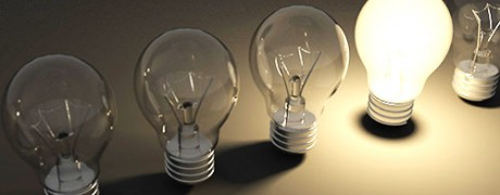 image of 5 light bulbs with one turned on - freedom interventions blog - best drug rehabs - choosing the right experience for you or your loved one
