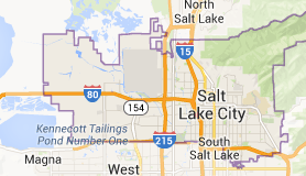 Map of Salt Lake City Utah | Salt Lake City Drug Intervention