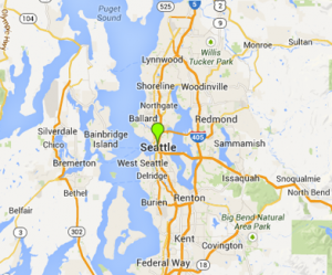 map of Seattle Washington | Seattle Intervention Services