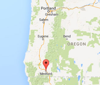 map of medford, oregon - freedom interventions provides medford drug interventions
